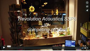 Revolution Acoustics Transducer Test