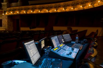 Vocal amplification and sound design in operas