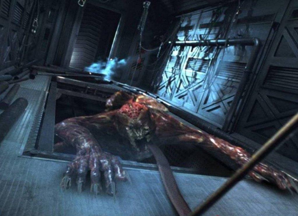 """Licker Monster aus """"Resident Evil"""""""