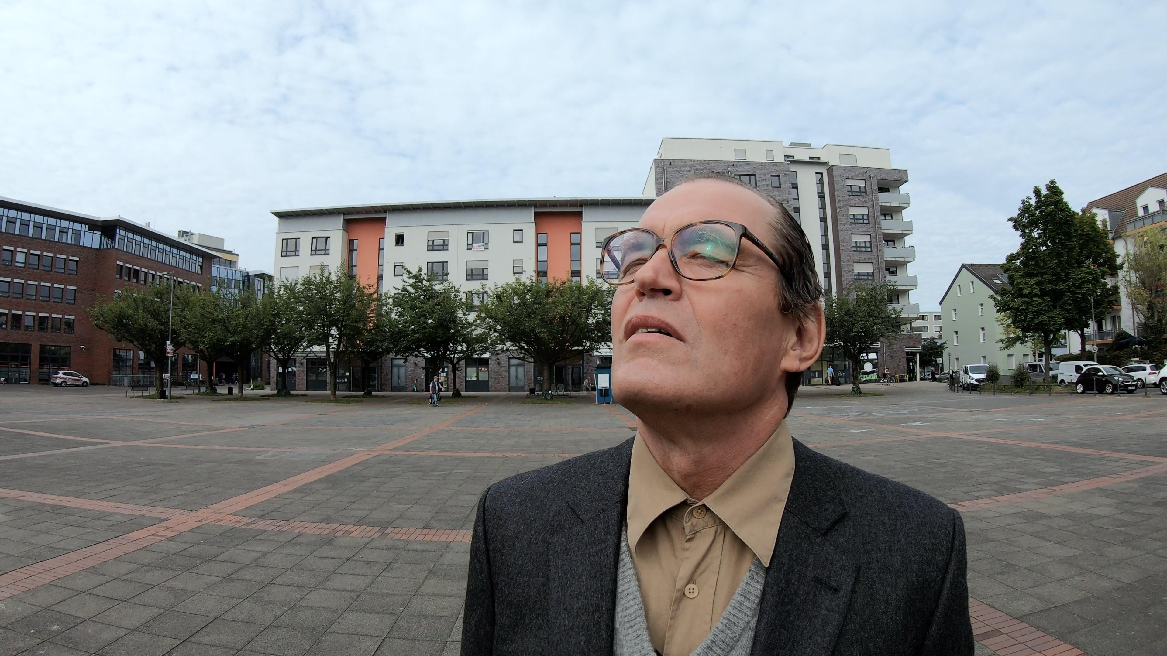 Jörg Ratjen als Adolf Eichmann